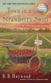 Book Cover Image. Title: Town in a Strawberry Swirl, Author: B. B. Haywood