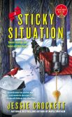 Book Cover Image. Title: A Sticky Situation (Sugar Grove Series #3), Author: Jessie Crockett