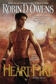 Book Cover Image. Title: Heart Fire, Author: Robin D. Owens
