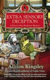 Book Cover Image. Title: Extra Sensory Deception:  A Raven's Nest Bookstore Mystery, Author: Allison Kingsley