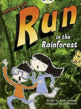 Run in the Rainforest (Turquoise A) Nf