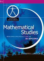 Mathematical Studies-Pearson Baccaularete For Ib Diploma Programs