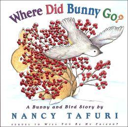 Where Did Bunny Go?: A Bunny and Bird Story