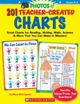 201 Teacher-Created Charts: Easy-to-Make, Classroom-Tested Charts That Teach Reading, Writing, Math, Science & More!