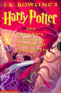 The Harry Potter Collection: The First Four Thrilling Adventures at Hogwarts