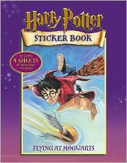 Flying at Hogwarts: Harry Potter Sticker Book