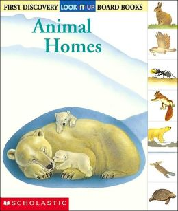 Animal Homes (Look-It-up Series)