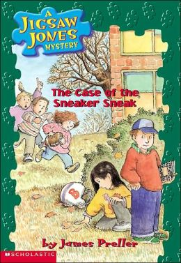 The Case of the Sneaker Sneak (Jigsaw Jones Series #16)