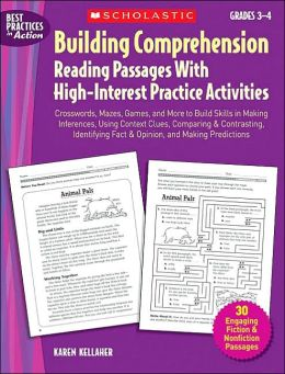 Building Comprehension: Reading Passages with High-Interest Practice Activites