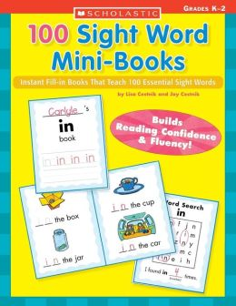 That Instant Word Mini Mini  all in Sight book 100 word sight  Fill Teach 100 Books: Books