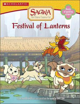Sagwa: Festival of Lanterns Coloring Book