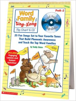Word Family Sing-Along Flip Chart & Cd, Grade PreK-2