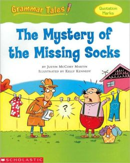 Mystery Of The Missing Socks (quotation marks)