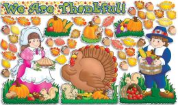 Bulletin Board Happy Thanksgiving