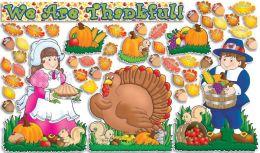Bulletin Board Happy Thanksgiving