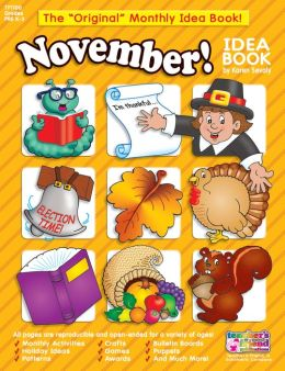 Monthly Idea Books November Pre K-6