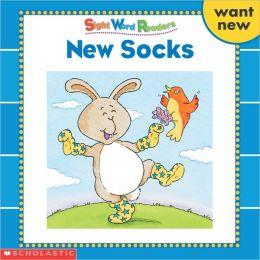 New Socks: Want, New (Sight Word Readers Series)