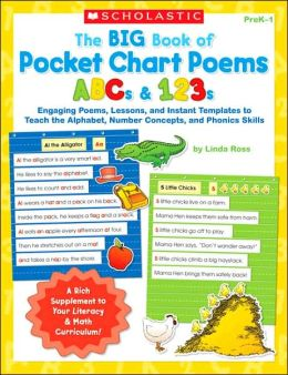 Big Book of Pocket Chart Poems: ABCs And 123s