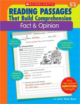 Reading Passages That Build Comprehension: Fact and Opinion