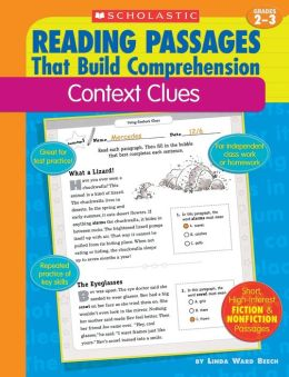 Reading Passages That Build Comprehension: Context Clues