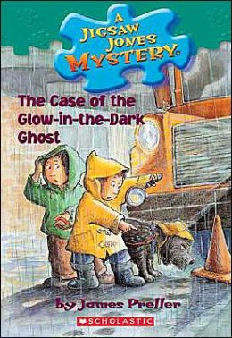 The Case of the Glow-in-the-Dark Ghost (Jigsaw Jones Series #24)