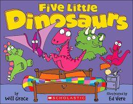 Five Little Dinosaurs