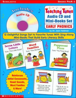 Teaching Tunes Audio CD and Mini-Books Set: Early Phonics