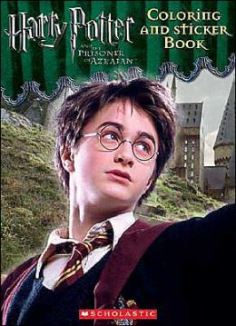 Harry Potter and the Prisoner of Azkaban: Coloring and Stickers Book