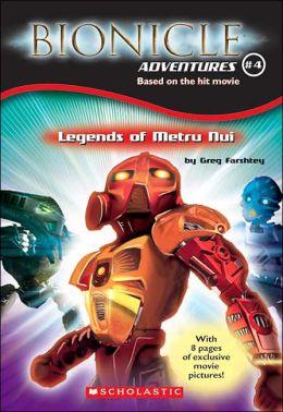 Legend of Metru Nui (Bionicle Adventures Series)