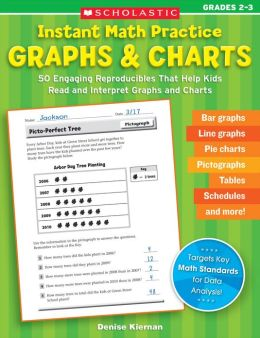 Instant Math Practice: Graphs & Charts (Grades 2-3): 50 Engaging Reproducibles That Help Kids Read and Interpret Graphs and Charts