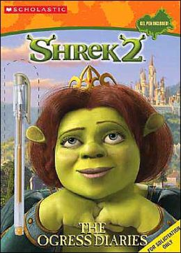 Shrek 2: The Ogress Diaries (Coloring & Activity Book with Gel Pen)