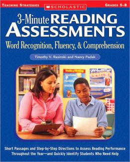 3-Minute Reading Assessments: Word Recognition, Fluency, and Comprehension, Grades 5-8