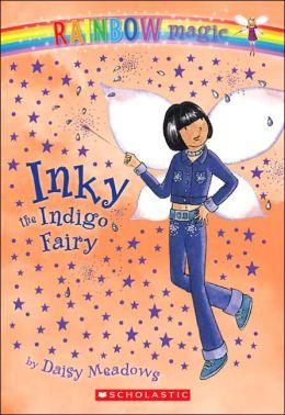 Inky the Indigo Fairy (Rainbow Magic Series #6)