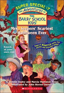 Mrs. Jeepers' Scariest Halloween Ever (Adventures of the Bailey School Kids: Super Special #7)