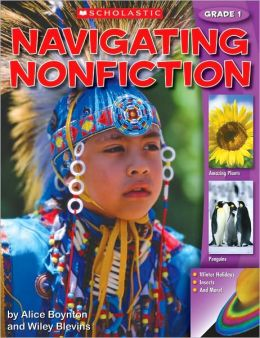 Navigating Nonfiction Grade 1 Student WorkText