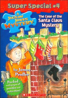 The Case of the Santa Claus Mystery (Jigsaw Jones Super Special Series #4)