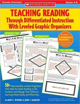 Teaching Reading Through Differentiated Instruction With Leveled Graphic Organizers