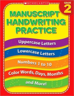 Manuscript Handwriting Practice Grade 2