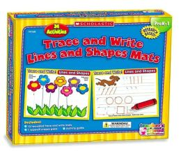 Trace and Write Lines and Shapes Mats