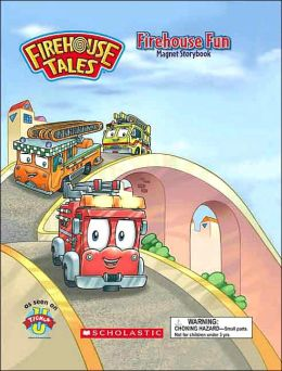 Firehouse Fun: Magnet Storybook (Firehouse Tales Series)