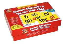 Literacy Manipulatives: Blends, Digraphs and Vowel-Pair Tiles