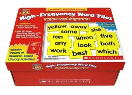 Literacy Manipulatives: High-Frequency Word Tiles: Sight-Word Super Set