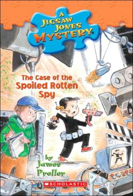 The Case of the Spoiled Rotten Spy (Jigsaw Jones Series #31)