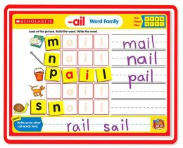 Little Red Tool Box: Magnetic Mats: Word Families