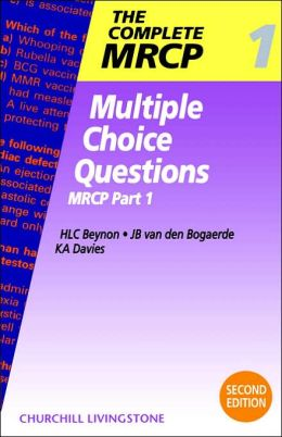 Multiple Choice Questions: MRCP Part 1