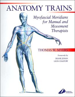 anatomy trains myofascial meridians for manual and movement therapists
