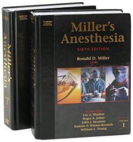 Miller's Anesthesia (2 Volume Set)