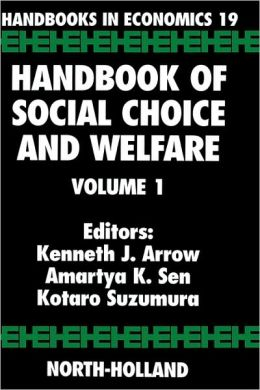Handbook of Social Choice and Welfare