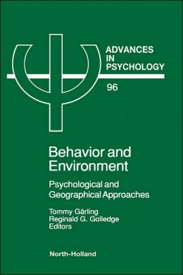 Advances In Psychology V96