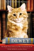 Book Cover Image. Title: Dewey:  The Small-Town Library Cat Who Touched the World, Author: Vicki Myron